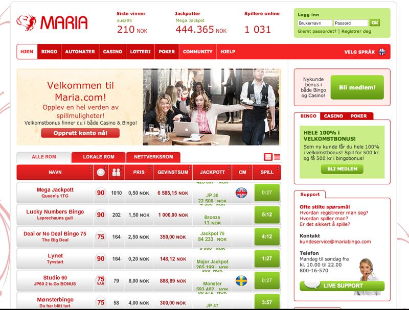 Mariabingo.Com