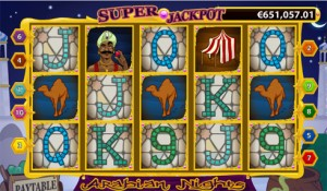 MILLIONÆR PÅ NETTET: Nikken Turi gliser fra øre til øre etter å ha blitt 10 millioner kroner rikere på nettspillet «Arabian night» hos Casumo casino.
