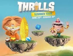 Thrills sommerturne lite
